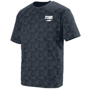 Storm Men's Jolt Performance Crew Bowling Shirt Dri-Fit Graphite