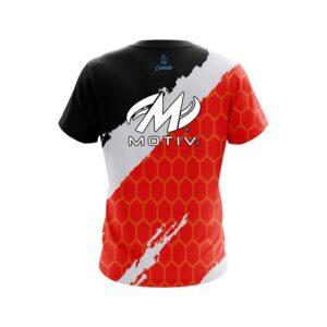 Motiv Split Power Red CoolWick Bowling Jersey