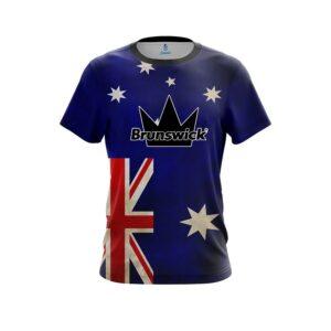 Brunswick Australian Flag CoolWick Bowling Jersey