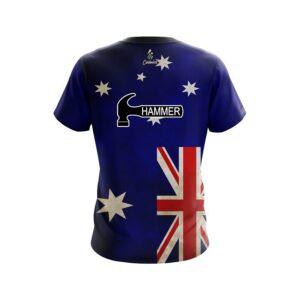 Hammer Australian Flag CoolWick Bowling Jersey